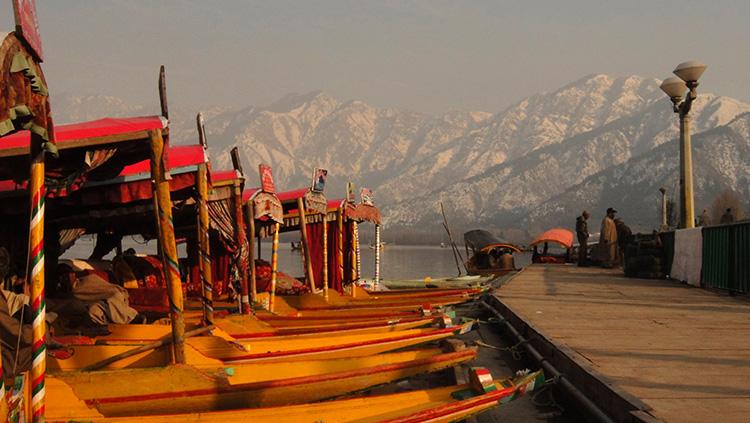 Shikaras dal, Lake Kashmir - by Paulo Leite