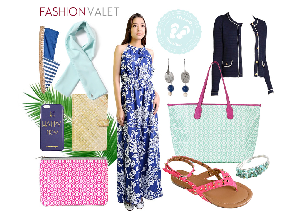 Fashion valet - what to wear to an island getaway