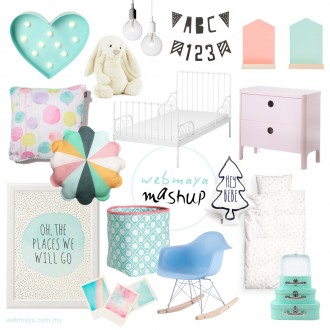 Pastel Paradise Kids Bedroom Mashup