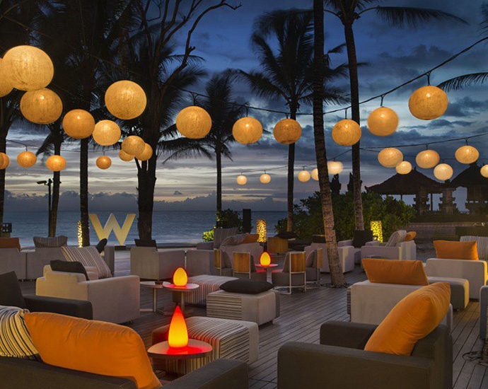 Sunset at W Hotel, Bali