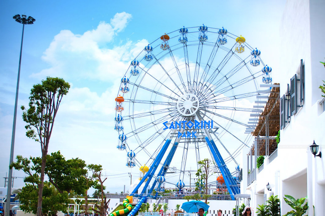 The Santorini Park, Cha-am, Hua Hin